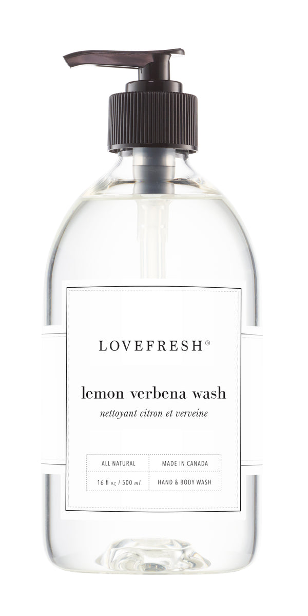 Lemon Verbena, Hand & Body Wash