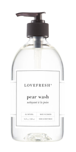 Pear, Hand & Body Wash