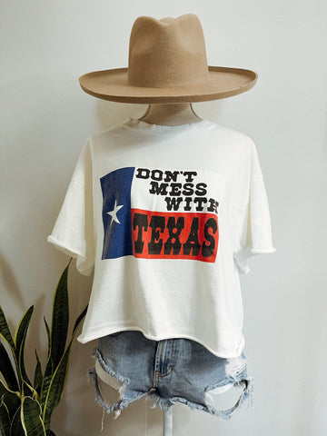 Vintage Don't Mess With Texas Tee