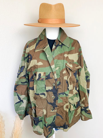 Vintage Authentic Military Jacket