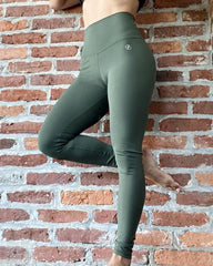 ABS2B - Emana Shape Leggings (Khaki)