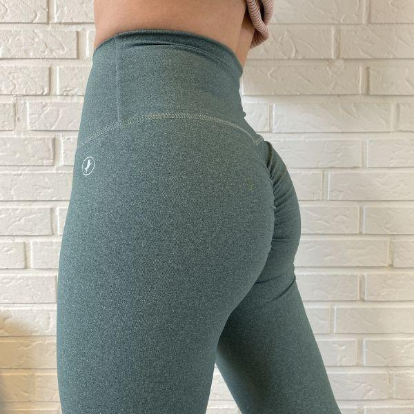 ABS2B - High Waist Leggings Heather (Olive)