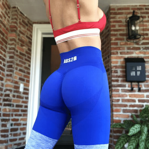 ABS2B - Seamless Pro Booty (Blue)