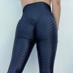ABS2B - Zero Flaw Leggings (Metallic Black)