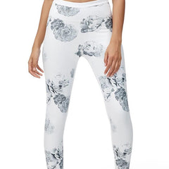 ALL FENIX - Eden 7/8 Leggings (White)
