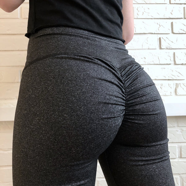 ABS2B - High Waist Leggings Marilyn (Charcoal)