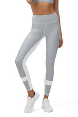 ALL FENIX - High Waist Limitless Leggings (Grey)
