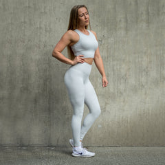 BARA - High Waist Shape Leggings (Grey)