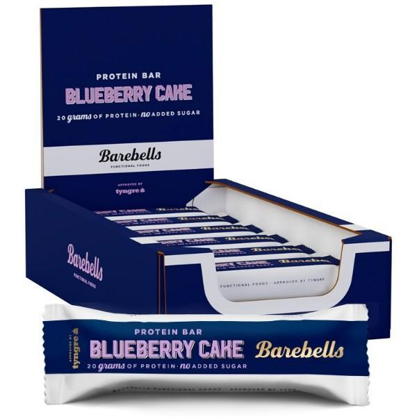 Barebells - Protein Bar Blueberry Cake (12x55g)