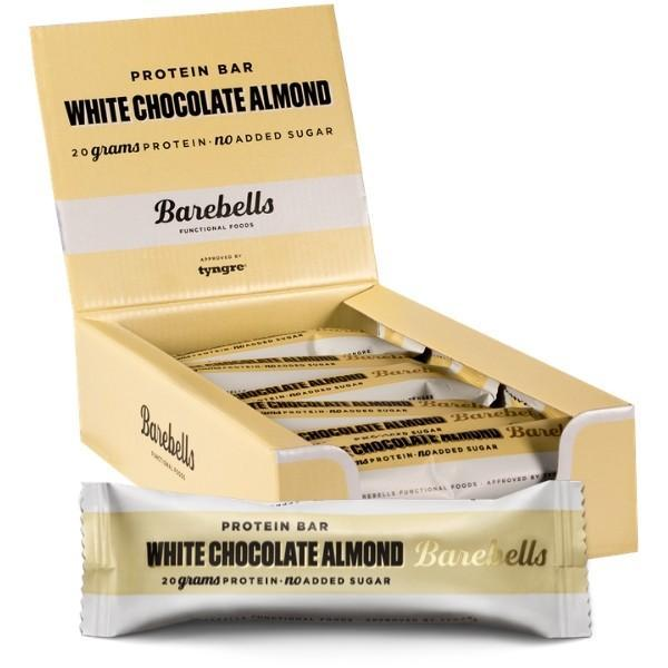 Barebells - Protein Bar White Almond (12x55g)