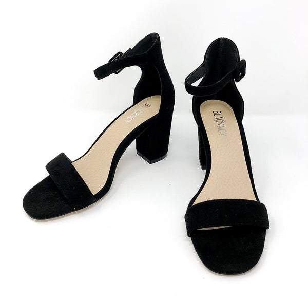 Blackncy - Jana (Black Faux Suede)