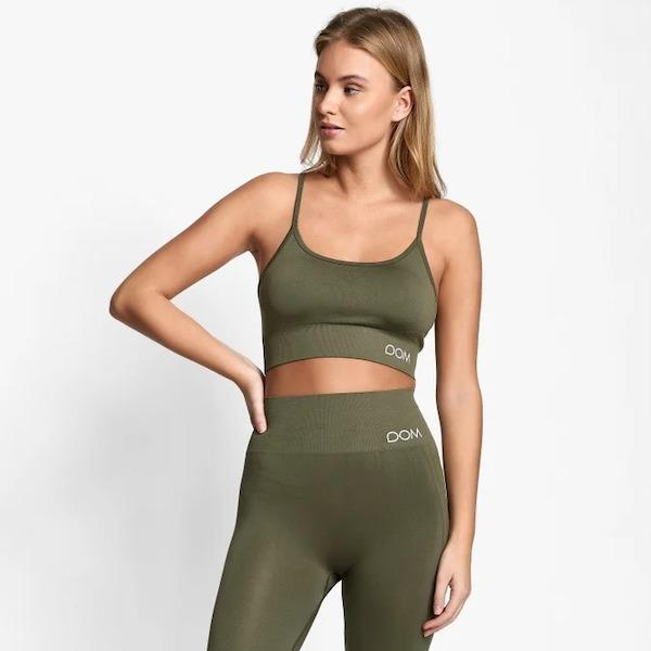 Drop of Mindfulness - Trinity Sportsbra (Green)