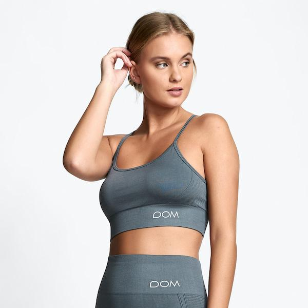 Drop of Mindfulness - Trinity Sportsbra (Grey)