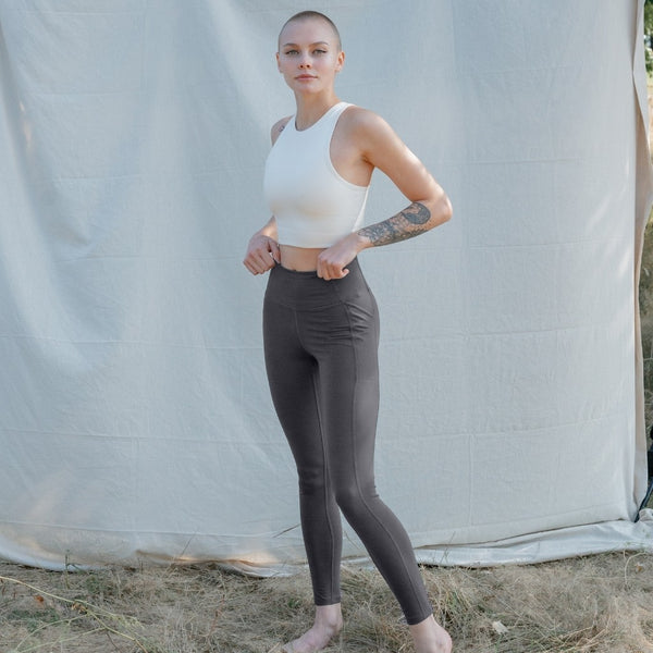 Girlfriend Collective - Pocket Leggings (Moon)
