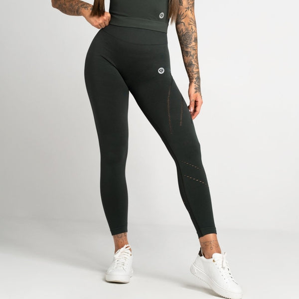 Gym Glamour - Alexa Leggings (Green)
