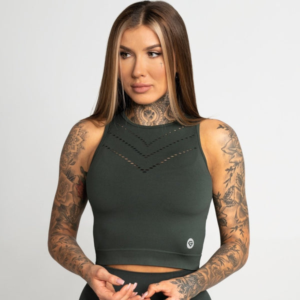 Gym Glamour - Alexa Tank Top (Green)