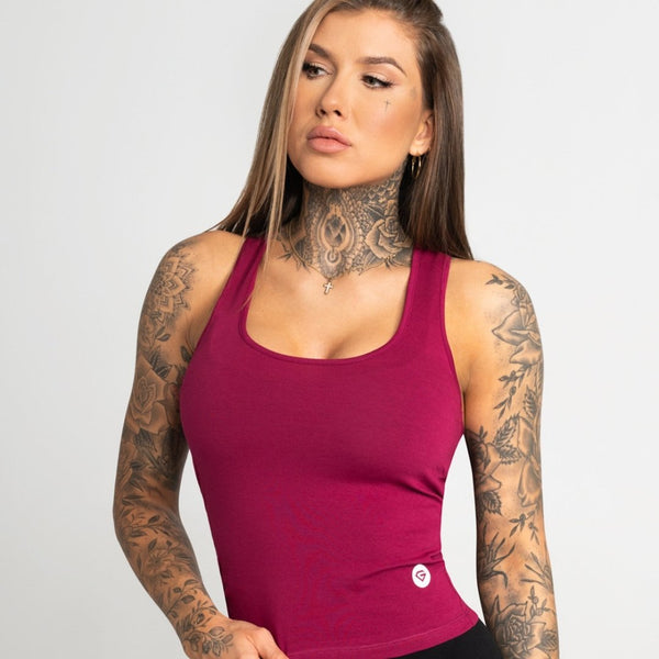 Gym Glamour - Elena Top (Red)