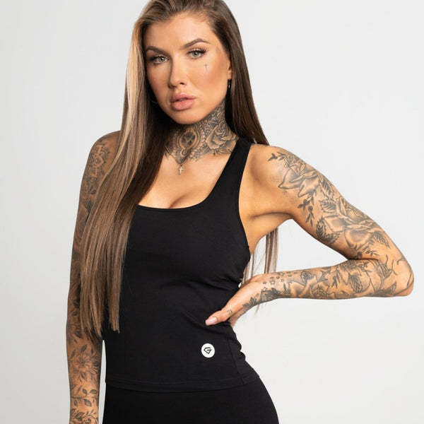 Gym Glamour - Elena Top (Black)