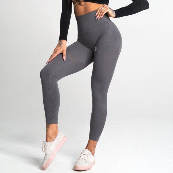 Gym Glamour - Maya Seamless Leggings (Grey)