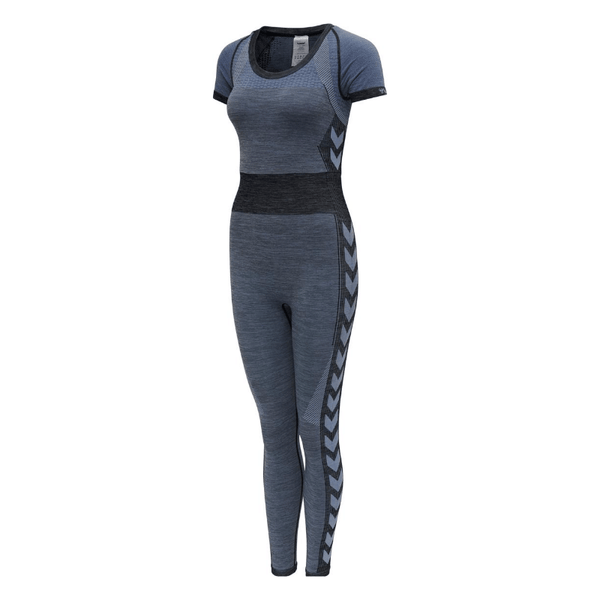 Hummel® - Sky Seamless Jumpsuit (Blue/Grey)