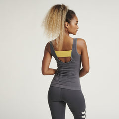 Hummel® - Cement Seamless Top (Charcoal)
