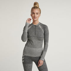 Hummel® - Dawn Seamless Shirt (Grey)