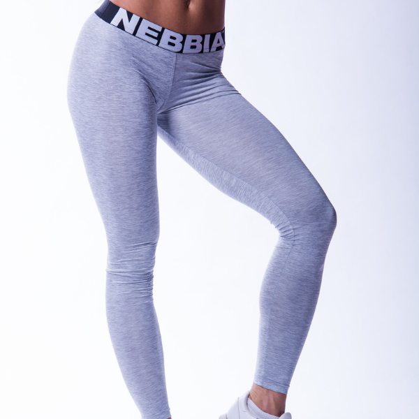 Nebbia - Scrunch Leggings (Light Grey)