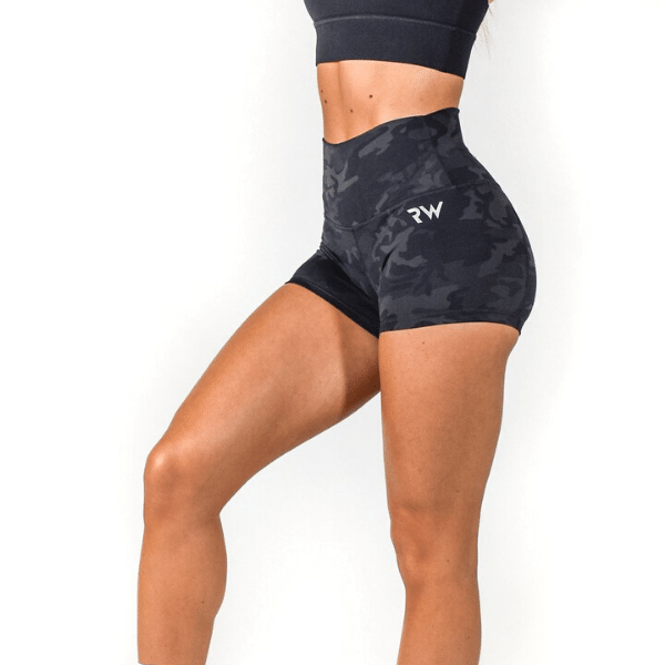 RapidWear - Booty Contour Shorts (Camouflage)