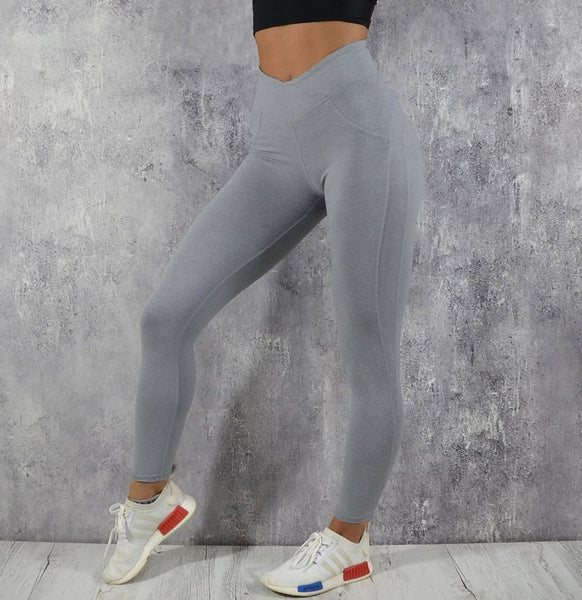 RapidWear - Scrunch Leggings (Grey)