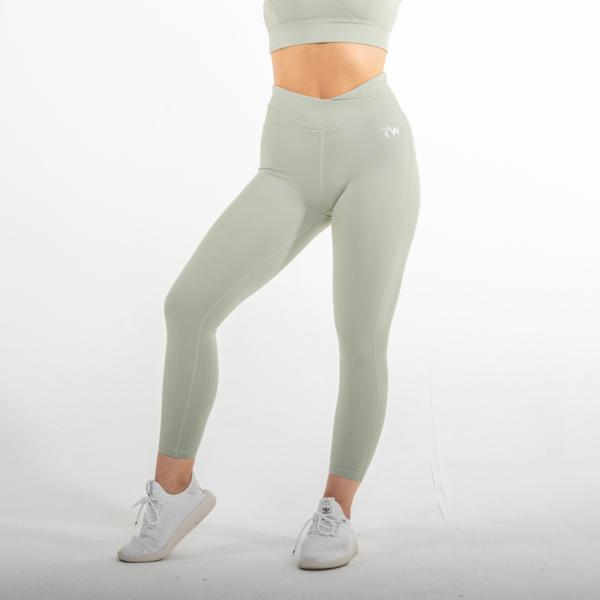 RapidWear - 7/8 Free Spirit Leggings (Light Green)
