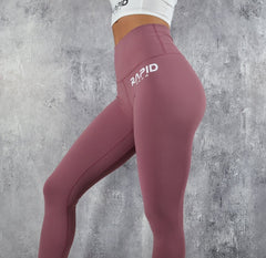 RapidWear - High Impact Leggings (Dusty Pink)