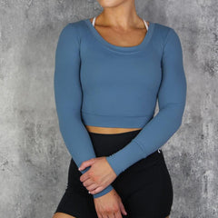 RapidWear - Long Sleeve Active Top (Blue)