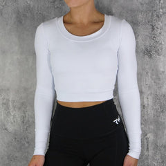 RapidWear - Long Sleeve Active Top (White)
