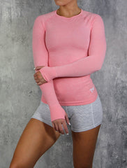 RapidWear - Reflex Seamless Top (Faded Pink)