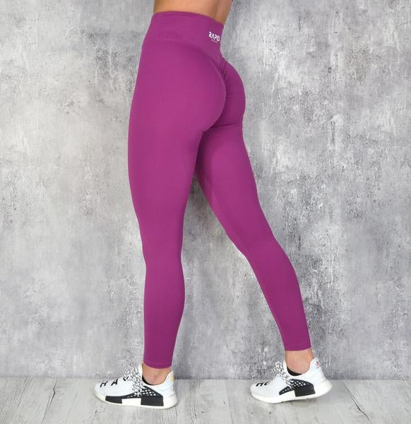 RapidWear - Scrunch+ Leggings (Plum)