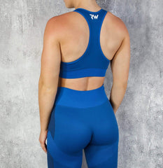 RapidWear - Seamless Force Sportsbra (Blue)