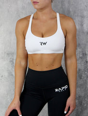 RapidWear - Sweat It Sportsbra (White)