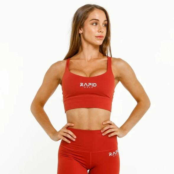 RapidWear - Ultimate Comfort Sportsbra (Red)