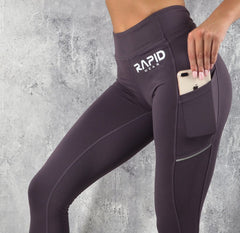 Rapid Wear - Ultimate Support Leggings (Purple)