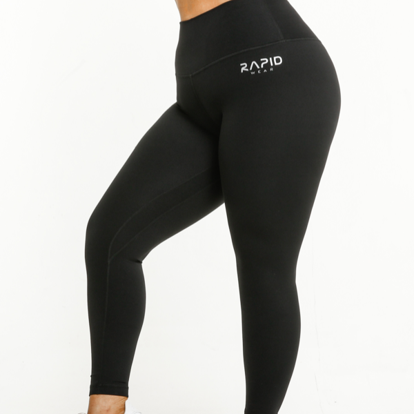 RapidWear - Ultimate Comfort Leggings (Black)