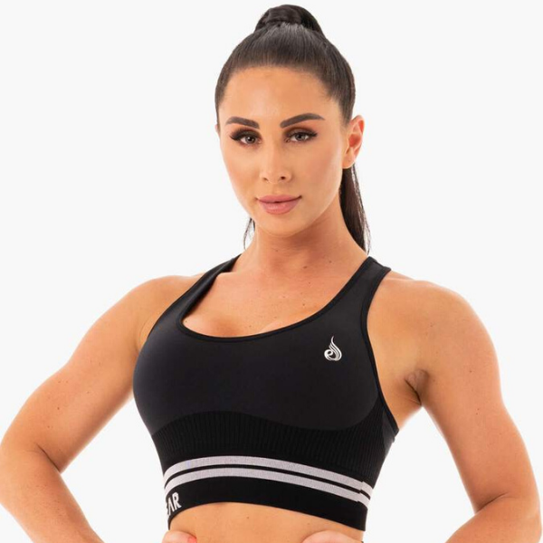 Ryderwear - Seamless Freestyle Sportsbra (Black)