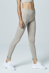 Varley - Quincy Snake Leggings (Beige)