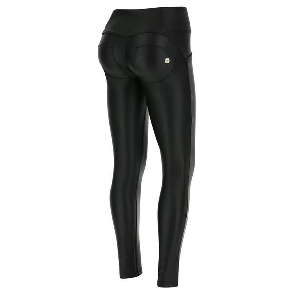 WR.UP® Mid Waist Eco Leather Black (N)
