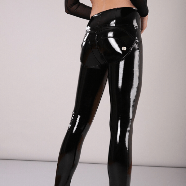 WR.UP® High Waist Latex Black (N)