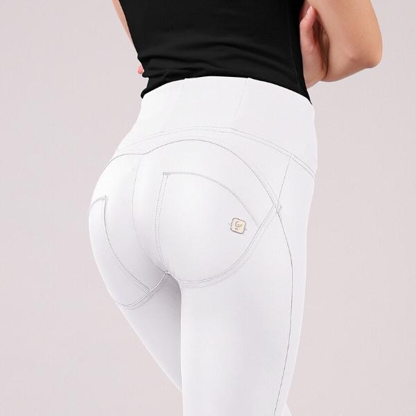 WR.UP® High Waist Eco Leather White (W)