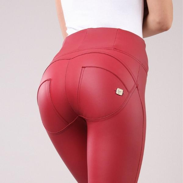 WR.UP® High Waist Eco Leather Red (R68)