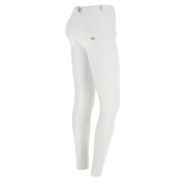 WR.UP® Regular Waist Eco Leather White (W)