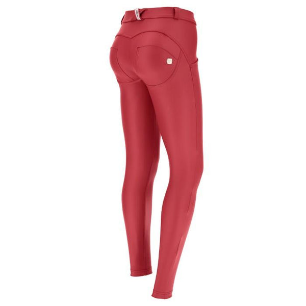 WR.UP® Regular Waist Eco Leather Red (R68)