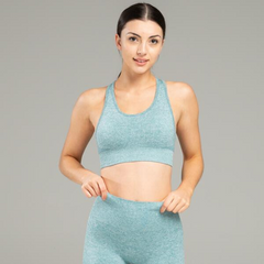 WearWolf - Power Seamless Sportsbra (Ocean Blue)
