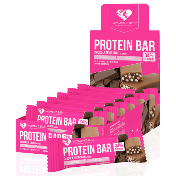 Women's Best - Protein Bar Choco Crunch (12x44)